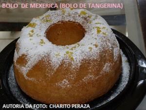 Receita de Bolo de Mexerica  (bolo de tangerina)