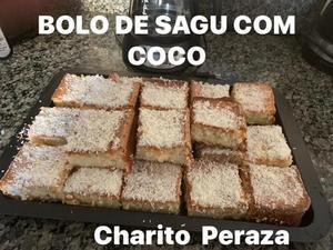 Receita de Bolo de Sagu com Coco