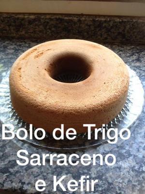 Receita de Bolo de Trigo Sarraceno e Kefir