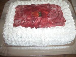 Receita de Bolo Gelado de Frutas Vermelhas