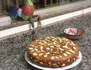 Bolo ou Torta Invertida de Semolina com Amêndoas