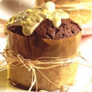 Receita de Bolo suflê de café com creme de pistache