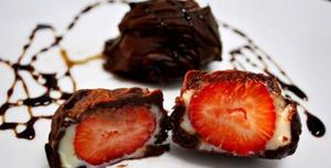 Receita de Bombom Morango de Chocolate