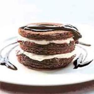 Receita de Brownie de Chocolate em Camadas
