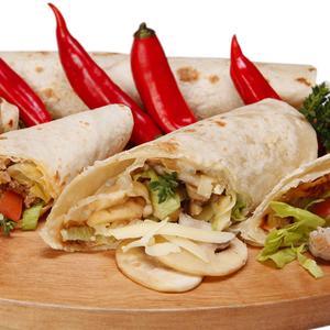 Receita de Burrito de cogumelo