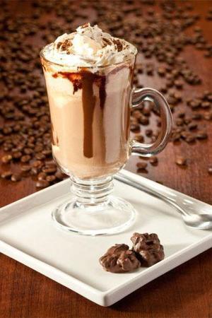 Receita de Café Gelado com Chantilly