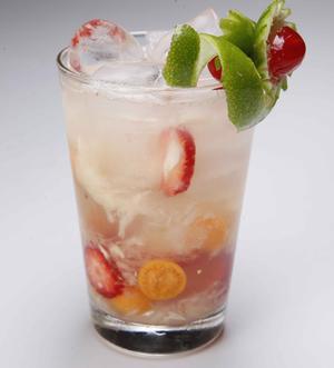 Receita de Caipira Mix Fruit
