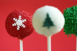 Receita de Cake Pop de Natal