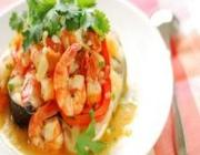Caldeirada de camarão e peixe