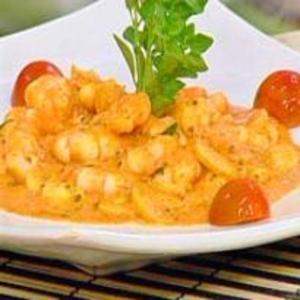 Receita de Camarão ao Molho de Tomate