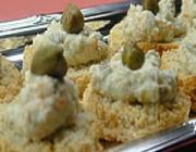 Canapés de Tofu com Ervas