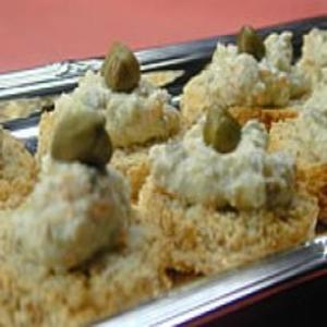 Receita de Canapés de Tofu com Ervas