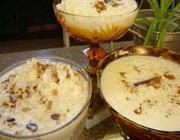 Canjica com amendoim ou com coco e leite condensado