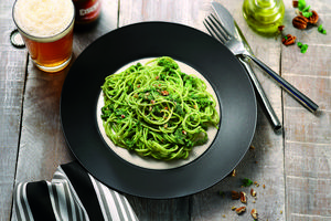 Receita de Capellini Grano Duro ao Pesto