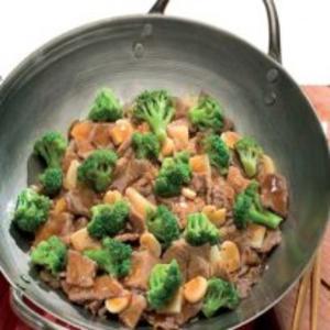 Receita de Carne com brócolis