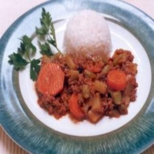 Receita de Carne Moída com Legumes