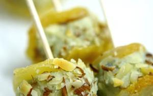 Receita de Casulo de pera com roquefort