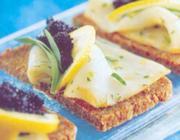 Caviar e Surubim com Estragão