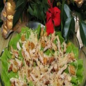 Receita de Ceasar Salad com Peito de Frango