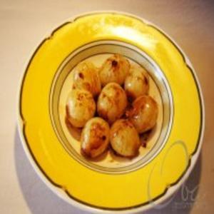 Receita de Cebolas Glaceadas com Balsâmico