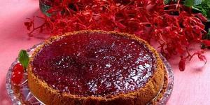 Receita de Cheesecake com Geleia de Framboesa