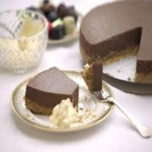 Receita de Cheesecake de chocolate