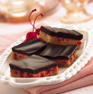 Receita de Cheesecake de Chocolate e Cereja