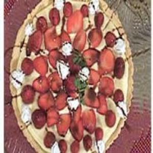 Receita de Cheesecake de Morango Biscoito