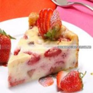 Receita de Cheesecake de Morango Light