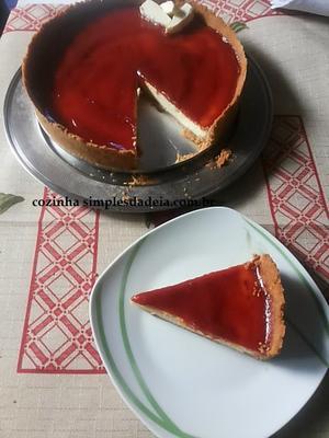 Receita de Cheesecake Romeu e Julieta