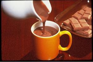 Receita de Chocolate duplo quente