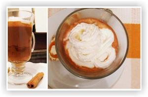 Receita de Chocolate Quente com Creme de Avelã