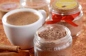 Receita de Chocolate Quente das Arábias