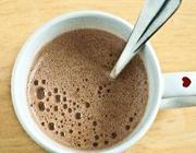 Chocolate quente de bombom
