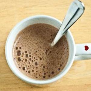 Receita de Chocolate quente de bombom