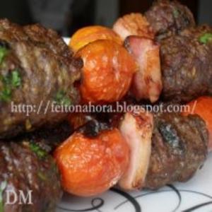 Receita de Churrasquinho de carne moida