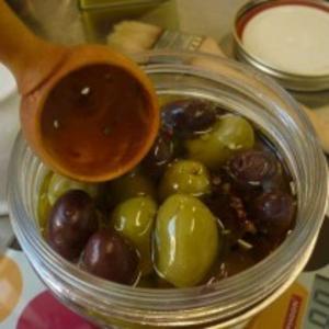 Receita de Conserva de azeitonas