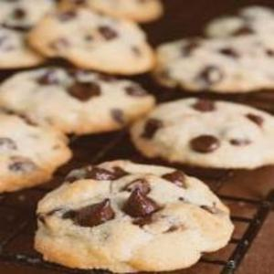 Receita de Cookies com Gotas de Chocolate