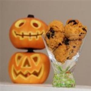 Receita de Cookies de abóbora com gotas de chocolate