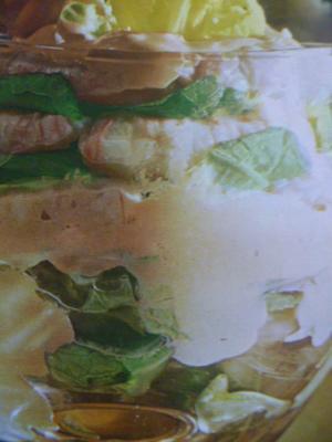 Receita de Coquetel de camarão com alface