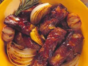 Receita de Costeletas de Porco com Chá Souchong