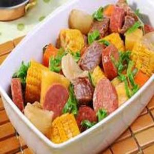 Receita de Cozido de Carne Com Legumes
