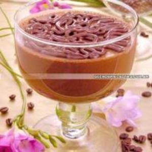 Receita de Creme de café com chocolate Meio Amargo