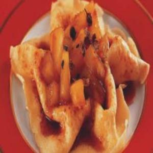 Receita de Crepe com Recheio de Abacaxi