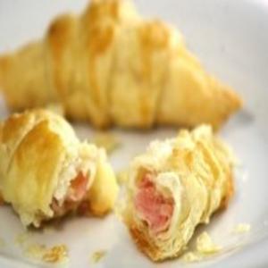 Receita de Croissant de Presunto e Queijo