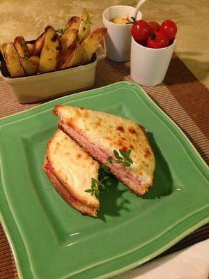 Receita de Croque Monsieur