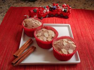 Receita de Cupcake Integral com Frutas Secas e Maçã