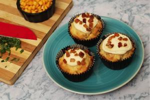 Receita de Cupcake Salgado