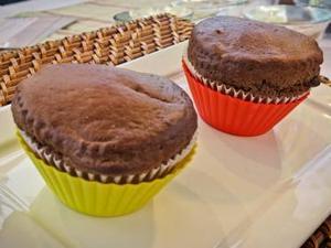 Receita de Cupcakes Saudáveis