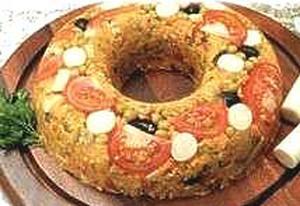 Receita de Cuscuz Marroquino com Cúrcuma, Legumes e Grão-de-Bico